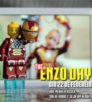 Participem do mutirão Enzo Day