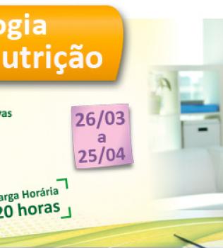 PSICOLOGIA DA NUTRIÇÃO DE 26/03/14 A 25/04/14 – TURMA 7 – 20 HORAS