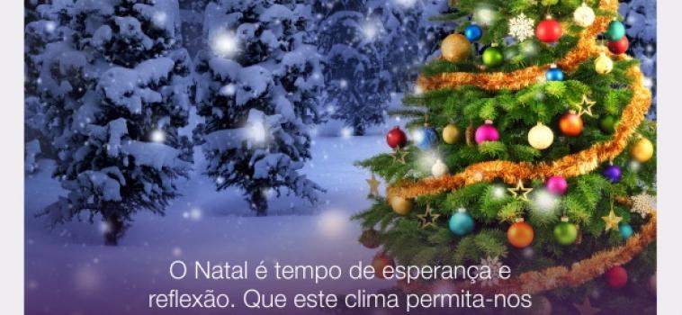Feliz Natal e um 2016 maravilhoso para você!