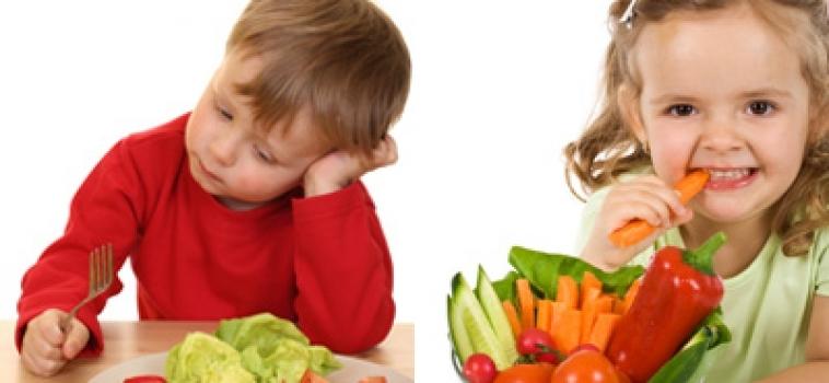 Alimentação das crianças não tira férias